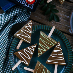 圣誕樹小蛋糕——寶寶輔食的做法