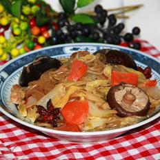 香菇炖白菜