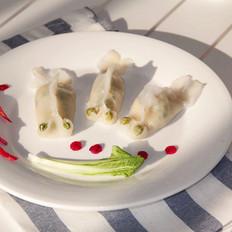 小白菜虾肉蒸饺
