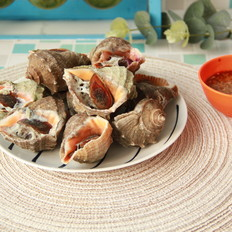 盐水煮海螺