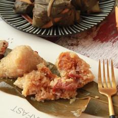 鲜肉鸭蛋黄粽子(内含红豆沙大枣包法)