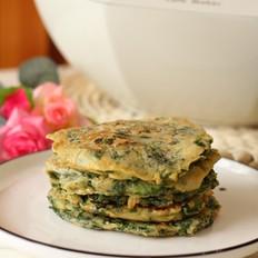 芹菜叶鸡蛋早餐饼的做法
