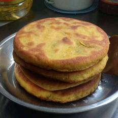 素馅馅饼(玉米面版)