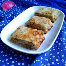 火龙果煎饼