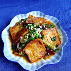 香煎豆腐的做法大全