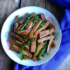 尖椒豆腐干