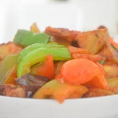 土豆片烧茄子