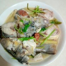 酸梅午笋鱼(鳡鱼)