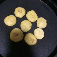 香蕉玉米面儿小小饼