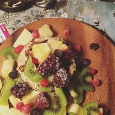 健康香蕉松饼(无面粉)