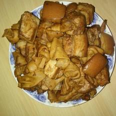 懒人做懒菜之五花肉干豆腐