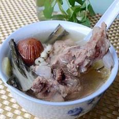 菜干脊骨汤---电饭煲版