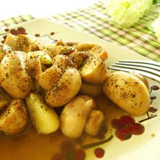 黄油黑椒口蘑