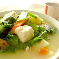 瑶柱清炖小白菜