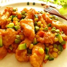 茄汁什锦龙利鱼