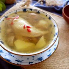 鸡翅口蘑芋头煲