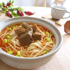 番茄牛肉酸汤面