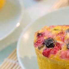 和润酸奶的自制燕麦水果蛋糕的做法