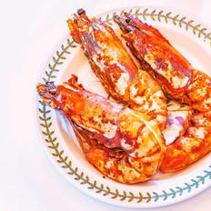 和润酸奶黄油烤大虾的做法