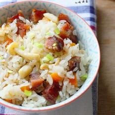 腊肠焖饭的做法