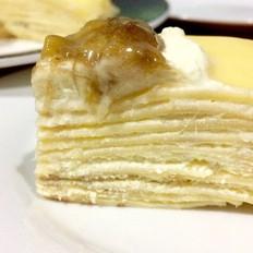 香蕉千层蛋糕