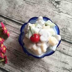 水果酸奶沙拉