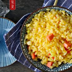 『家夏』黄金炒饭 早餐快手饭 (剩大米的美味做法)