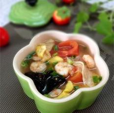 西红柿虾仁汤