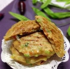 酱香鸡肉西葫芦饼