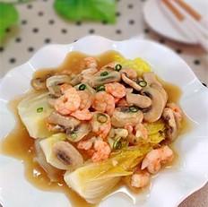 蒜香虾仁娃娃菜
