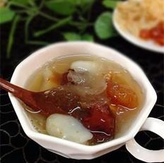 桃胶养颜汤