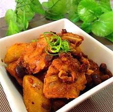 广东豆豉蒸排骨