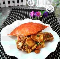 宁波年糕炒螃蟹