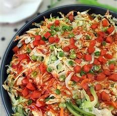 蔬菜吐司布丁