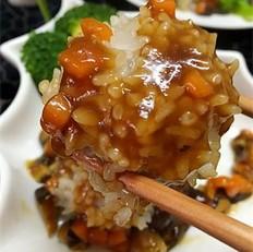 鱼香珍珠藕丸
