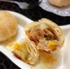 鲜肉玉米榨菜月饼