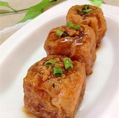 油豆腐酿肉