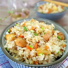 土豆鸡丁炒饭