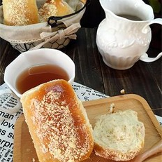 无油全麦酥粒面包