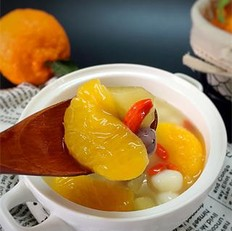 水果小圆子甜汤