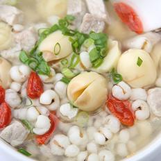 莲子薏米健身汤