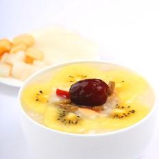 水果糙米粥