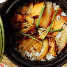 土猪腊肉焖饭