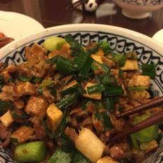 姜豆豉炒豆干