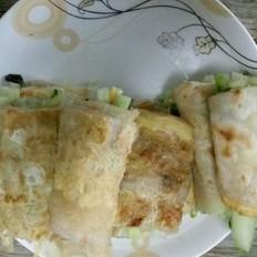 黄瓜葡萄籽卷饼
