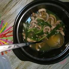 青葱猪腰汤