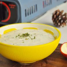 大餐必备之奶油蘑菇浓汤