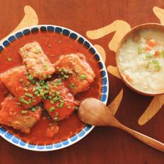 茄汁带鱼 一厨作的做法