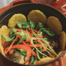 围炉铁锅鱼|一厨作的做法