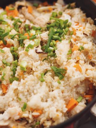 膏蟹蒸饭|一厨作的做法
